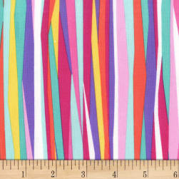Michael Miller Mer-Mates Current Stripe Tropical Fabric
