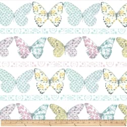 Michael Miller Butterfly Row Butterfly Row Confection Fabric
