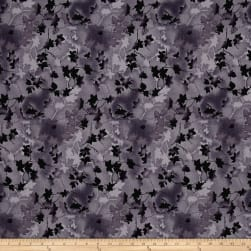 Ivy 118 Wide Back Leaves Dark Gray