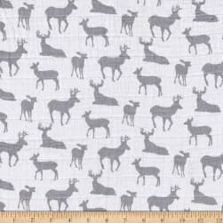Shannon Premier Prints Embrace Double Gauze Deer To