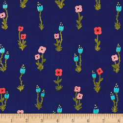 Meriwether Folk Fleur Nightfall Fabric