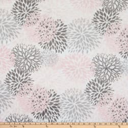 Shannon Premier Prints Minky Cuddle Blooms Blush Fabric