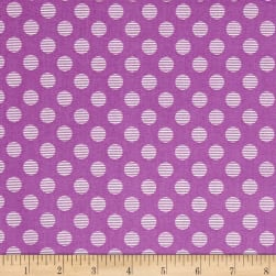 Hello Jane Dot Lilac Fabric