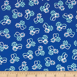 Hello Jane Loop Flower Navy