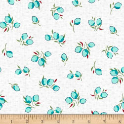 Hello Jane Fruit Aqua Fabric