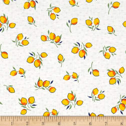 Hello Jane Fruit Yellow Fabric