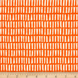 Notepad Sticks Orange Fabric