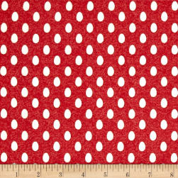 The Hen House Eggs Red Fabric
