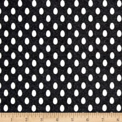 The Hen House Eggs Black Fabric