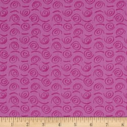 Bread & Butter Fiesta Swirls Hot Pink Fabric