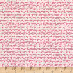 Hand Picked Organic Triangles Pink