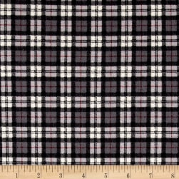 Mad for Plaid Flannel Square Plaid Grey