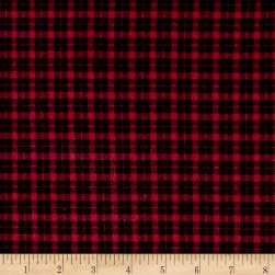 Mad for Plaid Flannel Mini Check Red
