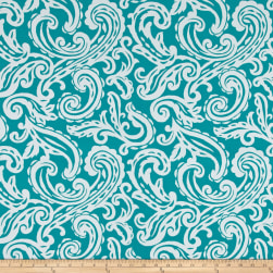 Terrasol Outdoor Colima Teal Fabric