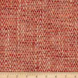 P/Kaufmann Artisan Herringbone Basketweave Poppy Fabric