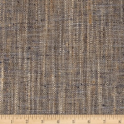 P/Kaufmann Handcraft Basketweave Pescara Ink Blue Fabric