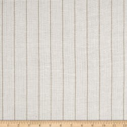P/Kaufmann Sheer Summerdale Stripe Eggshell Fabric
