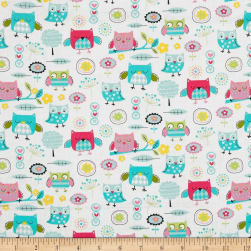 It's a Hoot Baby Owls Multi Fabric