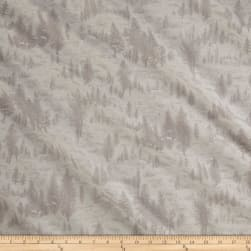 Moda Forest II Glitter Snowy Village Snow Fabric