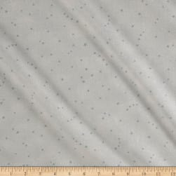 Moda Forest II Glitter Stars Icy Blue Fabric