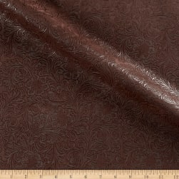 KasLen Faux Leather Western Trail Chocolate