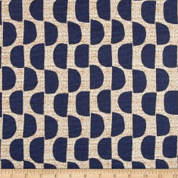 Scott Living Dome Basketweave Orson Navy Belgian Fabric
