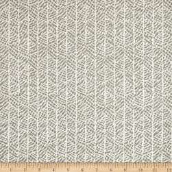 Scott Living Grace Basketweave Cyan Grey Belgian Fabric