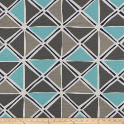 Scott Living Ian Basketweave Cyan Belgian Fabric