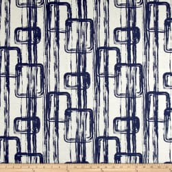 Scott Living Link Basketweave Orson Navy Belgian Fabric