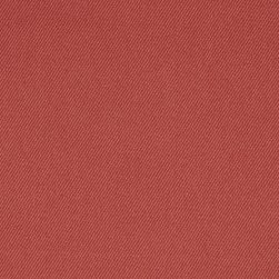 Organic Cotton Twill Nautical Red