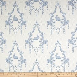 Moda Lily & Will Revisited Flannel Lily & Will Cream/Blue