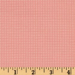 Moda 30's Playtime 2017 Cross Stitch Pink