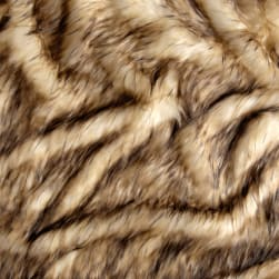 Shannon Desert Wolf Faux Fur Honey