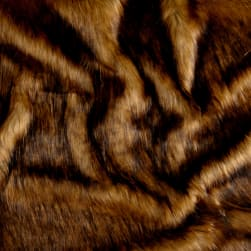 Shannon Golden Fox Faux Fur Gold Fabric