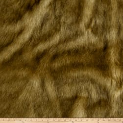 Shannon Mountain Lion Faux Fur Caramel