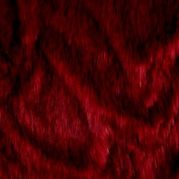 Shannon Norwegian Faux Fox Fur Ruby
