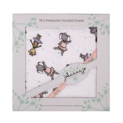 Shannon Johanna Jo Tiny Treasures Hooded Towel Tinydancer
