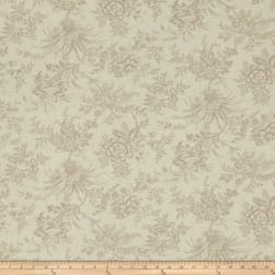 Moda Snowberry Floral Toile Snow