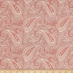 Moda Snowberry Paisley Snow/Berry