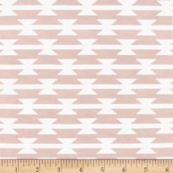 Art Gallery Arizona After Jersey Knit Tomahawk Stripe Blush