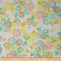 Art Gallery Reverie Fusion Sprayed Blooms Fabric