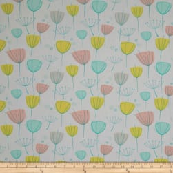 Art Gallery Reverie Fusion Floral Frolic Fabric