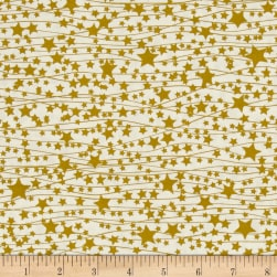 Art Gallery Little Town Twinkle Stars Fabric