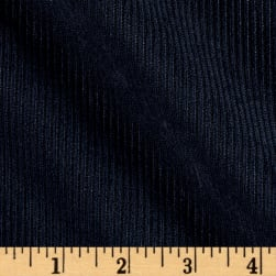 10 Wale Polyester Corduory Navy Fabric