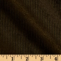 10 Wale Polyester Corduroy Olive Fabric