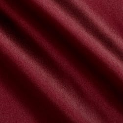 Debutante Stretch Satin Rich Wine Fabric