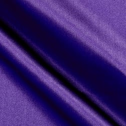 Debutante Stretch Satin Purple