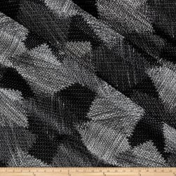 Telio Corina Mesh Knit Patchwork Black Fabric