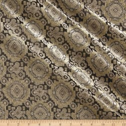 Telio Intrepid Jacquard Baroque Black/Yellow Fabric