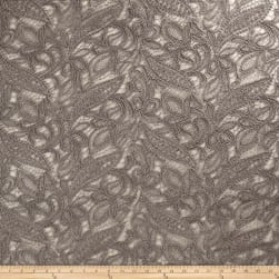 Starlight Mesh Lace Creation Silver Fabric